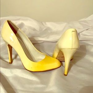 Metallic Yellow Pump